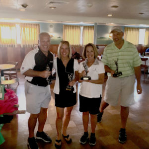 Our repeat Foursome Champions